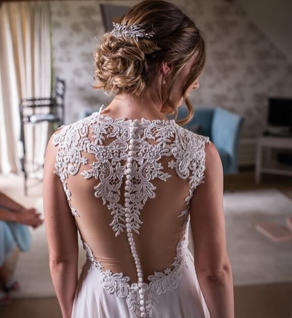 Photo of Brides by Solo dress details